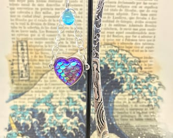 Mermaid Bookish Love-bookmarks for little mermaids-Bookish-Booklover-Bookworm-the Sea witch-