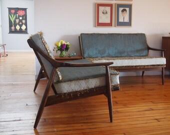 Authentic Danish Modern Sectional Sofa