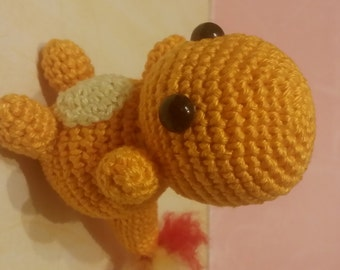 Pokemon Amigurumi Glumanda/ Charmander Amigurumi / versandfertig / ready to ship