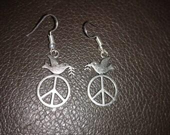 Let Peace Reign earrings