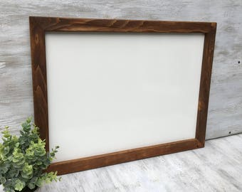 Framed Whiteboard Dry Erase Board White Board Wedding Sign Housewarming Gift Bulletin Board Large Whiteboard Kitchen Whiteboard Office Board