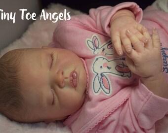 Londyn custom made to order. Newborn sized reborn baby.  boy or girl