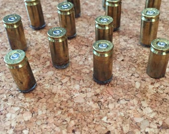 Bullet Push Pins Made From Spent Casings