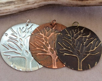 Tree Charm - Tree Pendant - Tree of Life Charm - Tree of Life Pendant - Tree of Life Jewelry - Tree Jewelry - Necklace Tree Charm