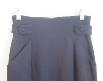 Hi Waist Pencil Skirt