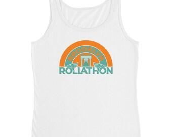 Brooklyn Rollathon   Retro Roller Derby Shirt   Ladies' Tank