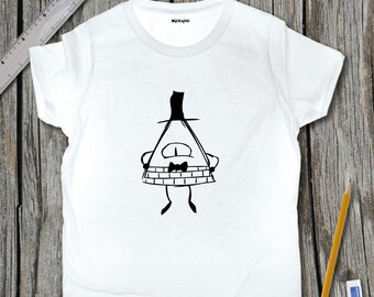 Bill Cipher Sketch T-Shirt | SketchTee