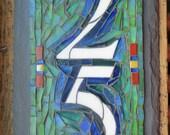 Vertical Mosaic House Num...