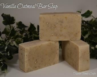 Vanilla Oatmeal Bar Soap (2 ounces)