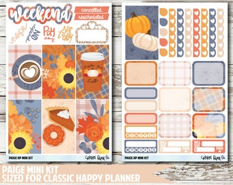 Paige CLASSIC HAPPY PLANNER Stickers