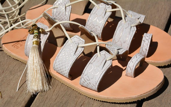 Boho Sandals Sandals White Shoes Leather wedding Gladiator Sandals shoe Wedding shoe Wedding Wedding flat wedding Sandal boho Sandals zxSZdxFqw