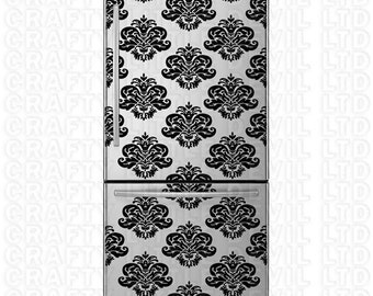Damask Refrigerator Decal (8-pack)
