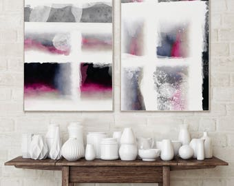 Abstract Print Abstract Art Print Abstract Wall Art Prints Abstract Pink Wall Art Abstract Modern Prints Abstract Pink Abstract Art