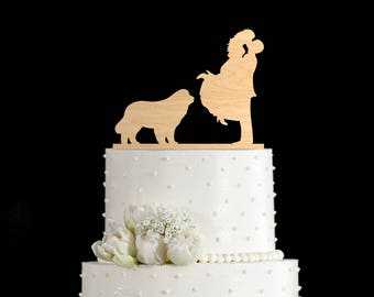Newfoundland dog wedding cake topper,Newfoundland dog wedding,Newfoundland dog wedding topper,Newfoundland dog art,Newfoundland dog,6542017