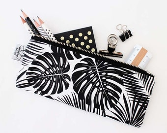 Tropical printed pencil case by Anjesydesign