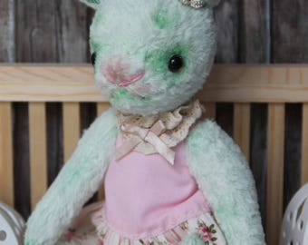 "Soft toy ""Hasi"", viscose, 25 cm with ears"