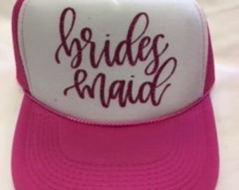 Bridesmaid Trucker hat - foam front