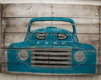 Vintage Ford sign