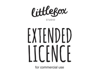 Extended Commercial Licence - 1 item listing