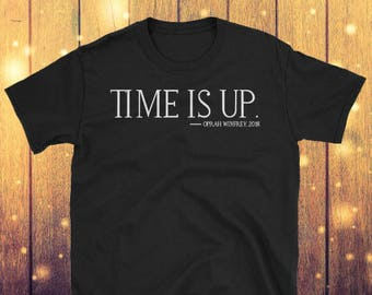 Oprah Winfrey, Time Is Up Black History Month Tribute Tee