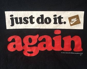Just Do It nike hockey team canada LS