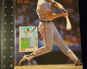 Beckett Baseball Monthly Issue # 74 May 1991 Mickey Mantle Sports