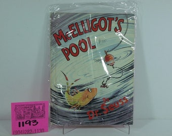 "1970's Random House Hardcover Edition -Dr. Seuss-""McElligot's Pool"""