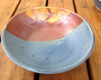Large flying Crain bowl