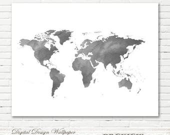 Watercolor world mapworld map watercolorprintable watercolor grey watercolor world mapworld map watercolorprintable watercolor world mapworld map gumiabroncs Images