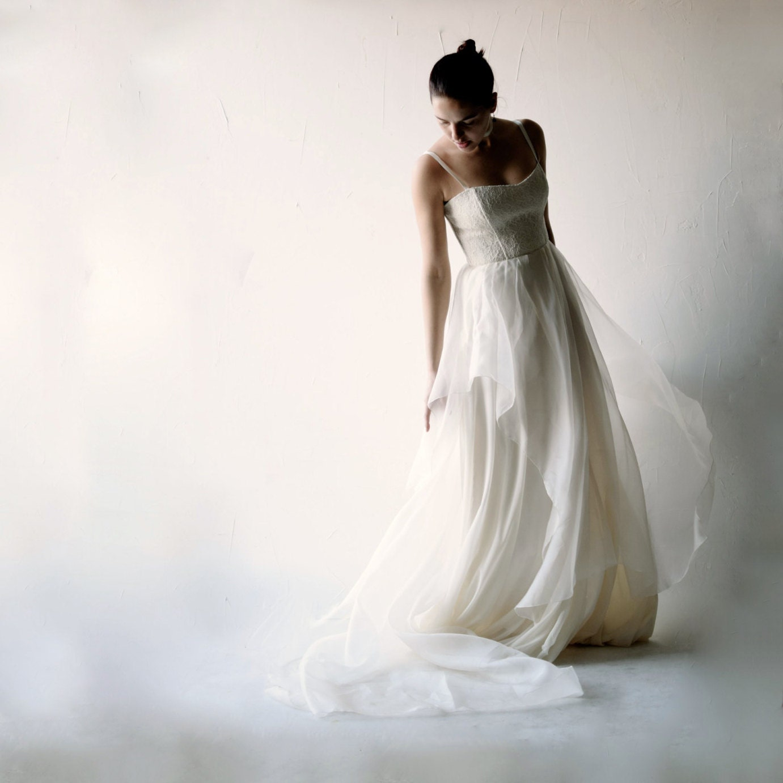 Lace Wedding Dress Boho Wedding Dress Bohemian Wedding