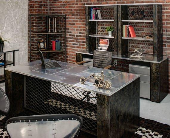 Urban Industrial Executive Desk