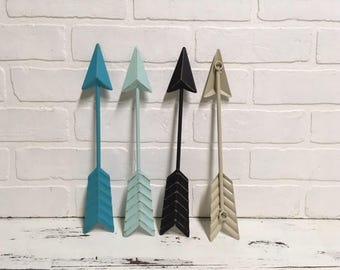 Arrow Wall Decor/Aqua/Arrow/Metal Arrow/Bohemian Decor/Arrow/Arrows/Tribal/ Indian/ Southwest/Arrow Art/Trendy/Boho