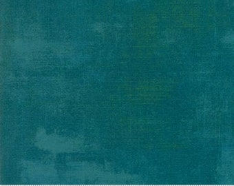 Fabric by the Yard -Grunge Basic in Saxony- by Basic Grey for Moda