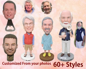 Custom bobblehead - 50th birthday gift for man, 50th birthday gift, 30th birthday for him, 30th birthday gift, 50th birthday gift for him
