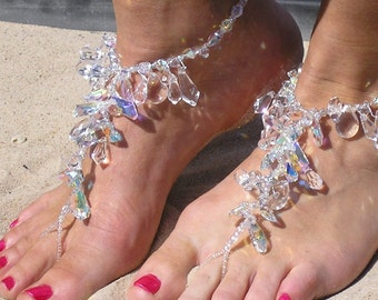 Happi Feet barefoot sandals beach wedding shoes