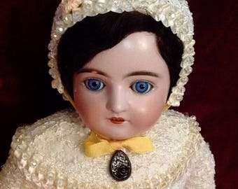 """Delicate Antique Johann Kestner Alphabet Doll ~ """"K""""  Delicate Antique Johann Kestner Alphabet Doll ~ """"K"""""""