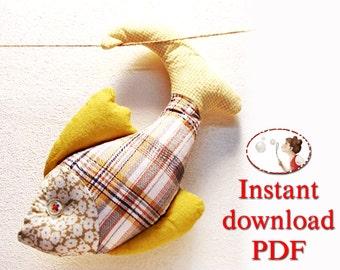 Baby. friendly. Sewing. Pattern. Mustard Fish -- PDF