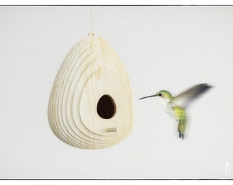 BIRD HOUSE - wood - template cutting file - Outdoor Birdhouse - Bluebird House - Bluebird House - laser cutting Birdhouse- Nesting Suppliers