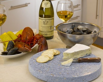 """Beachstone® Sustainable Products 12"""" Eco susan - lazy susan / cheese plate"""