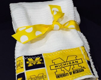 University Michigan  Hand Towels