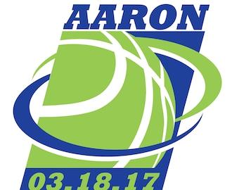 Basketball Bar Mitzvah Logo