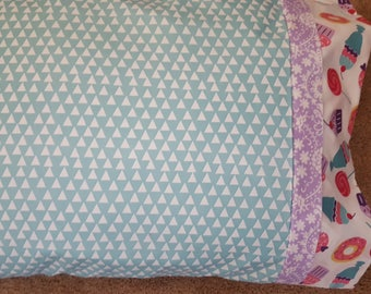 TURQUOISE PILLOW CASE