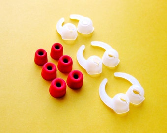 12pcs (RDMF-CLSTB) Memory Foam and Stabilizer Eartips for Jaybird Bluebuds X