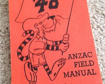 Anzac Field Manual 15th Reunion Class of 1948 Princeton University
