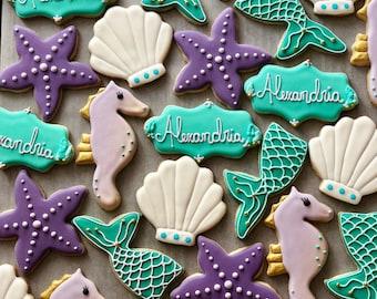 Mermaid Cookie Set of 24
