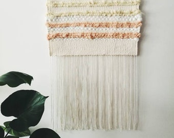 Wall hanging| Weaving tapestry| Wall decor| Weaving art| Home decor | Tapestry wall hanging| Fibre art