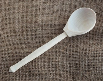 Wooden spoon Serving Utensils Small spoon Wood utensils Tea spoon Serving kitchen gift Gift for chef Natural spoon Wooden cooking spoon