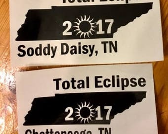 Solar Eclipse Decals