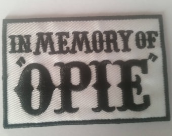 In The Memory of Ope  Patches Sons of Anarchy Reaper Crew
