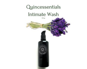 Intimate Wash, Feminine Wash, Vaginal wash, Intimate Cleanser, Intimate Soap, Natural Care, by Quincessentials